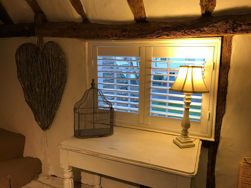 Small Window Full Height Shutters Hertfordshire