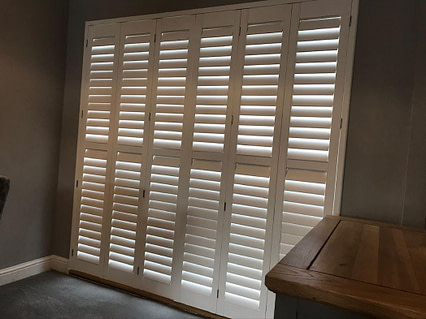 Bi-Fold Door Shutters - Hertfordshire