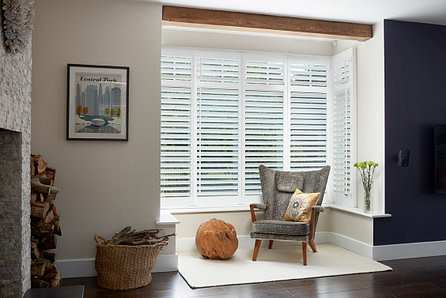 Full Height Hardwood Plantation Shutters Hertfordshire - Get Quick Quote