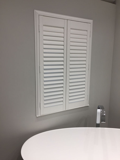 Bathroom Shutters Hertfordshire from Hardcastle Shutters