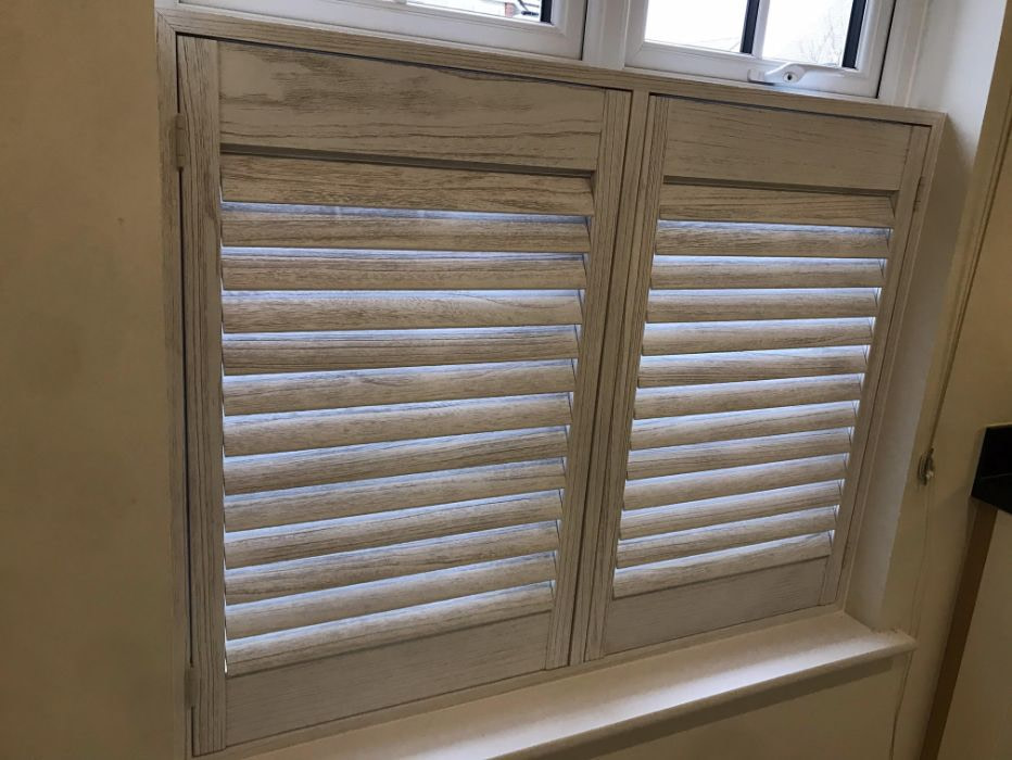 Craft Style Cafe Shutters - Hertfordshire