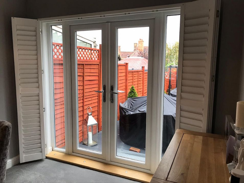 Bi Fold Door Shutters - Hertfordshire
